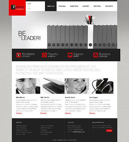 ADOBE Photoshop Template 31054 Home Page Screenshot