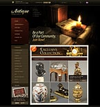 Zen Cart: Online Store/Shop osCommerce Templates Zen Cart Templates Wide Templates Antique Templates