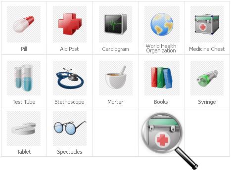 Icon Set Template 31129 Screenshots