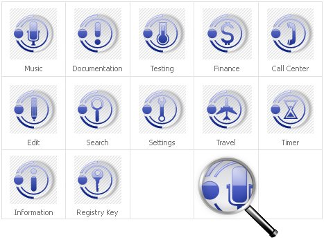 Icon Set Template 31130 Screenshots