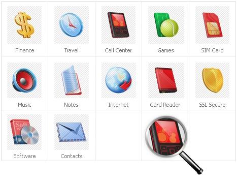 Icon Set Template 31132 Screenshots