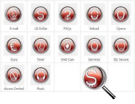 Icon Set Template 31135 Screenshots