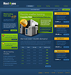 Web Hosting PSD  Template 31169