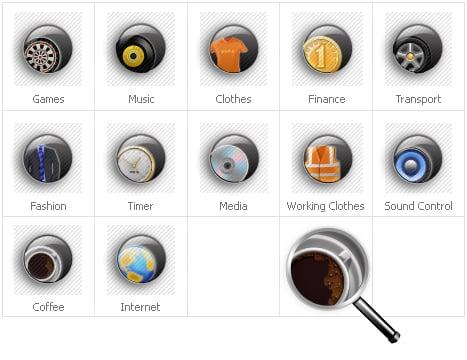Icon Set Template 31207 Screenshots