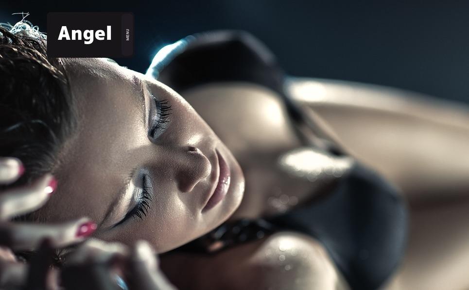 Plantilla Flash CMS #31222 para Sitio de Agencia de modelos New Screenshots BIG