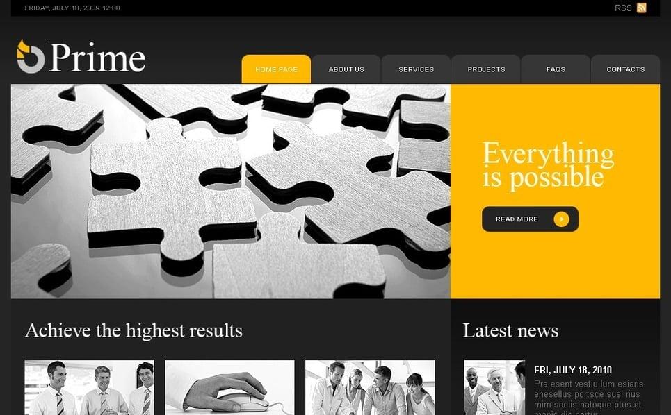 Plantilla PSD #31250 para Sitio de Negocio y Servicios New Screenshots BIG