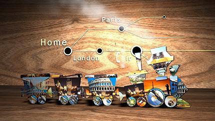 Intro After Effects #31238 na temat: biuro podróży i turystyki - zrzut ekranu