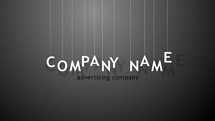 Logo Animé After Effects pour une agence de publicité #31287