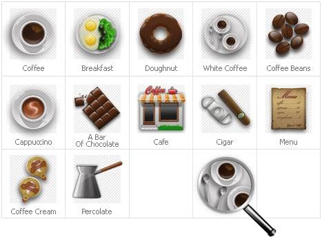 Icon Set Template 31302 Screenshots