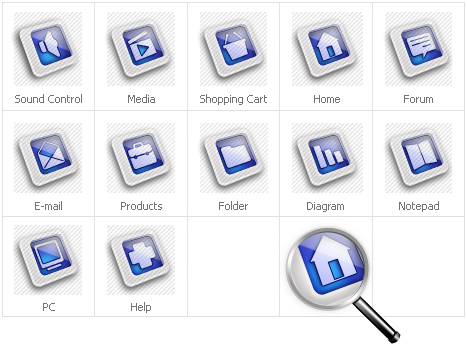 Icon Set Template 31303 Screenshots