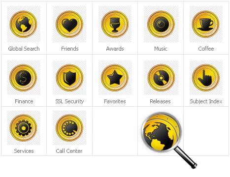 Icon Set Template 31305 Screenshots
