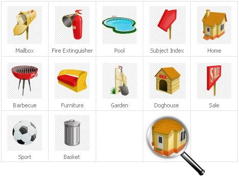 Icon Set Template 31308 Screenshots