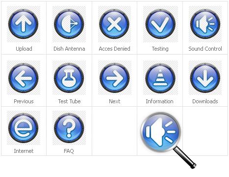 Icon Set Template 31310 Screenshots