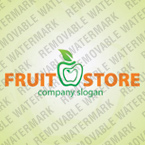 Logotype Template (cdr 12 Psd) boutique-ecommerce fruit 31333