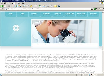 Template 31338 ( Privacy Policy Page ) HTML Screenshot