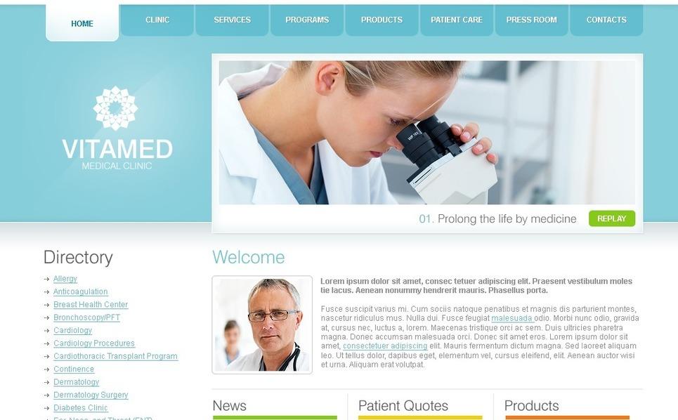 Szablon SWiSH #31338 na temat: medycyna New Screenshots BIG