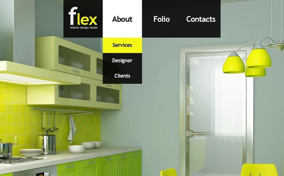 Plantilla Flash CMS #31345 para Sitio de Diseño interior New Screenshots BIG