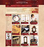 OsCommerce: Online Store/Shop osCommerce Templates Wide Templates Antique Templates