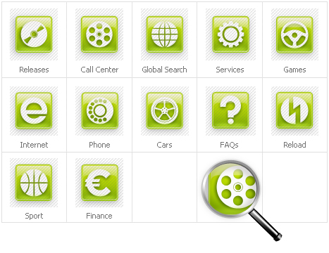 Icon Set Template 31416 Screenshots