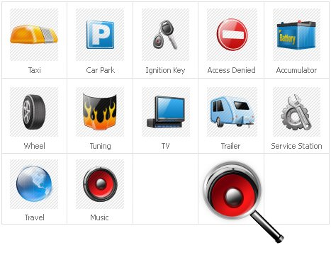 Icon Set Template 31418 Screenshots