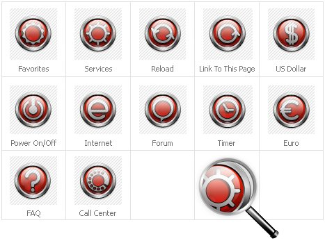 Icon Set Template 31420 Screenshots