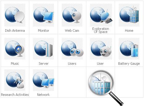 Icon Set Template 31421 Screenshots