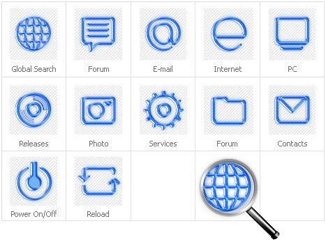 Icon Set Template 31432 Screenshots