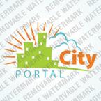 Logotype Template (cdr 12 Psd) portail ville 31469