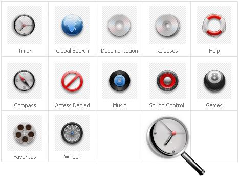 Icon-Sammlung Vorlage für Neutral #31429
