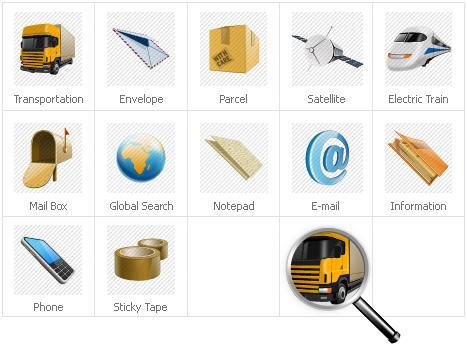 Plantilla De Conjunto De Iconos #31428 para Sitio de Gráficos