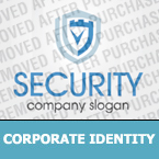 Security Corporate Identity Template 31625