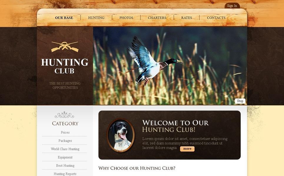 SWiSH Vorlage für Jagd  New Screenshots BIG