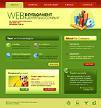 Web design Silverlight  Template 31637