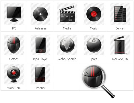 Icon Set Template 31658 Screenshots
