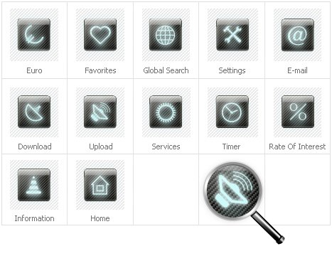 Icon Set Template 31660 Screenshots