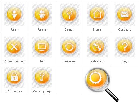 Icon Set Template 31695 Screenshots