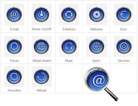 Icon Set Template 31696 Screenshots