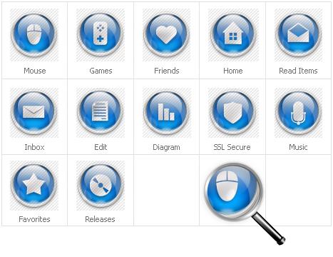 Icon Set Template 31699 Screenshots