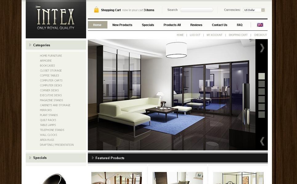 Tema zencart per un sito di design di interni for Siti design interni