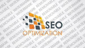SEO Website Logo Template vlogo
