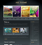 Art & Photography Silverlight  Template 31835