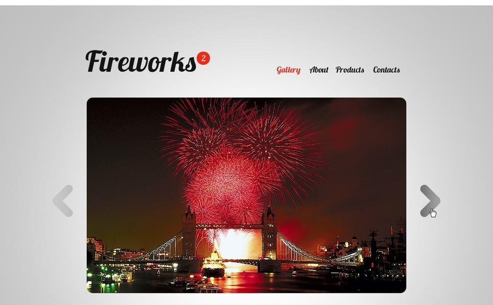Flash CMS шаблоны  развлекательной тематики №31947 New Screenshots BIG