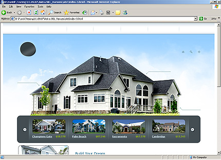 Template 31968 ( Building Page ) HTML Screenshot