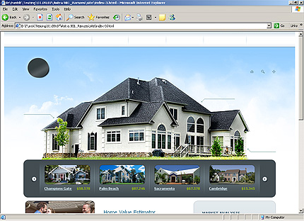 Template 31968 ( Selling Page ) HTML Screenshot