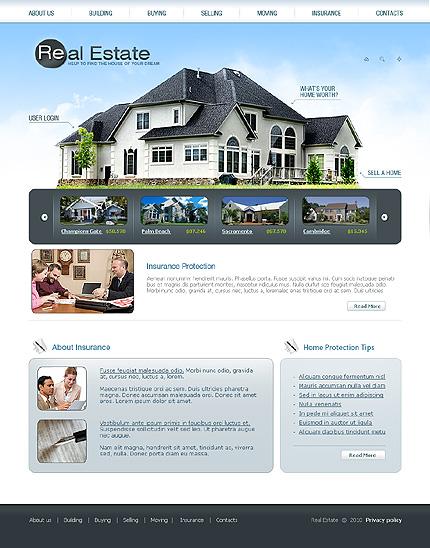 Template 31968 ( Insurance Page ) ADOBE Photoshop Screenshot