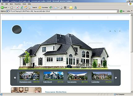 Template 31968 ( Insurance Page ) HTML Screenshot