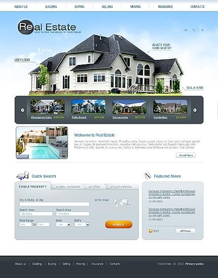 SWiSH Template 31968 Main Page Screenshot