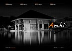Architecture Flash CMS  Template 32022