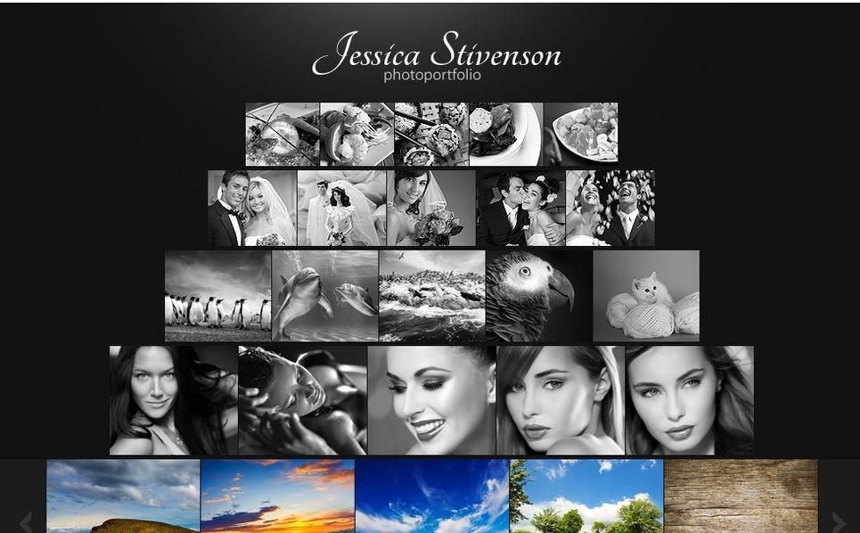 Шаблон фото галереи №32031 на тему  портфолио фотографа New Screenshots BIG