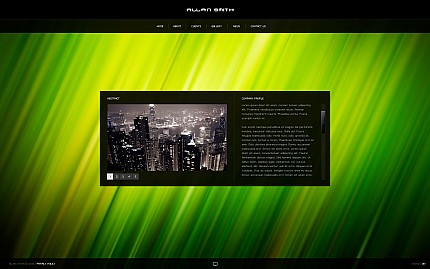 ADOBE Photoshop Template 32032 Home Page Screenshot